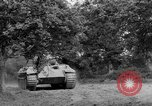 Image of Mark V tank Saint Lo France, 1944, second 13 stock footage video 65675041537
