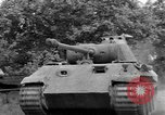 Image of Mark V tank Saint Lo France, 1944, second 17 stock footage video 65675041537