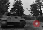 Image of Mark V tank Saint Lo France, 1944, second 29 stock footage video 65675041537
