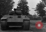 Image of Mark V tank Saint Lo France, 1944, second 30 stock footage video 65675041537