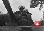 Image of Mark V tank Saint Lo France, 1944, second 39 stock footage video 65675041537
