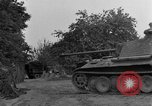 Image of Mark V tank Saint Lo France, 1944, second 51 stock footage video 65675041537