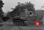 Image of Mark V tank Saint Lo France, 1944, second 53 stock footage video 65675041537