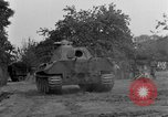 Image of Mark V tank Saint Lo France, 1944, second 55 stock footage video 65675041537