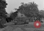 Image of Mark V tank Saint Lo France, 1944, second 58 stock footage video 65675041537