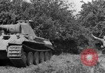 Image of Mark V tanks Saint Lo France, 1944, second 8 stock footage video 65675041540