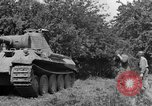 Image of Mark V tanks Saint Lo France, 1944, second 9 stock footage video 65675041540