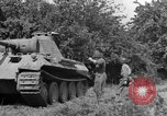 Image of Mark V tanks Saint Lo France, 1944, second 10 stock footage video 65675041540