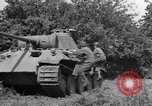Image of Mark V tanks Saint Lo France, 1944, second 12 stock footage video 65675041540