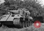 Image of Mark V tanks Saint Lo France, 1944, second 13 stock footage video 65675041540