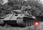 Image of Mark V tanks Saint Lo France, 1944, second 15 stock footage video 65675041540
