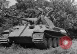 Image of Mark V tanks Saint Lo France, 1944, second 16 stock footage video 65675041540