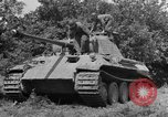 Image of Mark V tanks Saint Lo France, 1944, second 17 stock footage video 65675041540