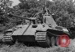 Image of Mark V tanks Saint Lo France, 1944, second 19 stock footage video 65675041540