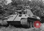 Image of Mark V tanks Saint Lo France, 1944, second 21 stock footage video 65675041540