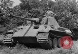 Image of Mark V tanks Saint Lo France, 1944, second 22 stock footage video 65675041540