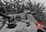Image of Mark V tanks Saint Lo France, 1944, second 26 stock footage video 65675041540