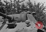 Image of Mark V tanks Saint Lo France, 1944, second 36 stock footage video 65675041540
