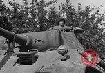 Image of Mark V tanks Saint Lo France, 1944, second 38 stock footage video 65675041540