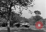 Image of Mark V tanks Saint Lo France, 1944, second 40 stock footage video 65675041540