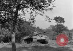 Image of Mark V tanks Saint Lo France, 1944, second 45 stock footage video 65675041540