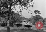 Image of Mark V tanks Saint Lo France, 1944, second 46 stock footage video 65675041540