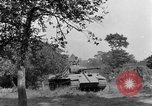 Image of Mark V tanks Saint Lo France, 1944, second 47 stock footage video 65675041540