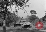 Image of Mark V tanks Saint Lo France, 1944, second 48 stock footage video 65675041540