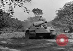 Image of Mark V tanks Saint Lo France, 1944, second 57 stock footage video 65675041540