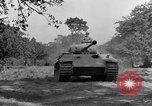 Image of Mark V tanks Saint Lo France, 1944, second 58 stock footage video 65675041540
