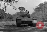 Image of Mark V tanks Saint Lo France, 1944, second 60 stock footage video 65675041540