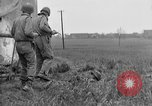 Image of Germans surrender to Sixth Armored Division Altenburg Germany, 1945, second 35 stock footage video 65675041547