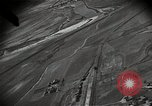 Image of gun camera records strafing attack by US warplane Korea, 1950, second 39 stock footage video 65675041566