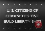 Image of citizens of Chinese descent California United States USA, 1943, second 1 stock footage video 65675041590