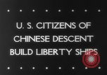 Image of citizens of Chinese descent California United States USA, 1943, second 2 stock footage video 65675041590