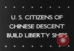 Image of citizens of Chinese descent California United States USA, 1943, second 6 stock footage video 65675041590
