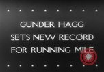 Image of Gunder Hagg United States USA, 1943, second 1 stock footage video 65675041591