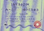 Image of United States troops Inchon Incheon South Korea, 1950, second 6 stock footage video 65675041601