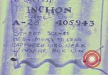 Image of United States troops Inchon Incheon South Korea, 1950, second 7 stock footage video 65675041601