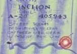 Image of United States troops Inchon Incheon South Korea, 1950, second 8 stock footage video 65675041601
