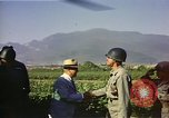Image of General O P Smith Naktong River Korea, 1950, second 15 stock footage video 65675041604