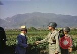 Image of General O P Smith Naktong River Korea, 1950, second 16 stock footage video 65675041604