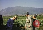 Image of General O P Smith Naktong River Korea, 1950, second 17 stock footage video 65675041604