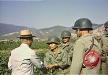 Image of General O P Smith Naktong River Korea, 1950, second 18 stock footage video 65675041604