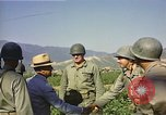 Image of General O P Smith Naktong River Korea, 1950, second 21 stock footage video 65675041604