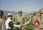 Image of General O P Smith Naktong River Korea, 1950, second 22 stock footage video 65675041604