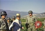 Image of General O P Smith Naktong River Korea, 1950, second 23 stock footage video 65675041604