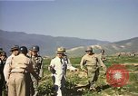 Image of General O P Smith Naktong River Korea, 1950, second 26 stock footage video 65675041604