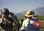 Image of General O P Smith Naktong River Korea, 1950, second 32 stock footage video 65675041604