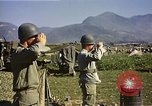 Image of General O P Smith Naktong River Korea, 1950, second 33 stock footage video 65675041604